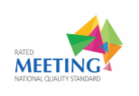 CSU Rated Meeting National Quality Standard Logo