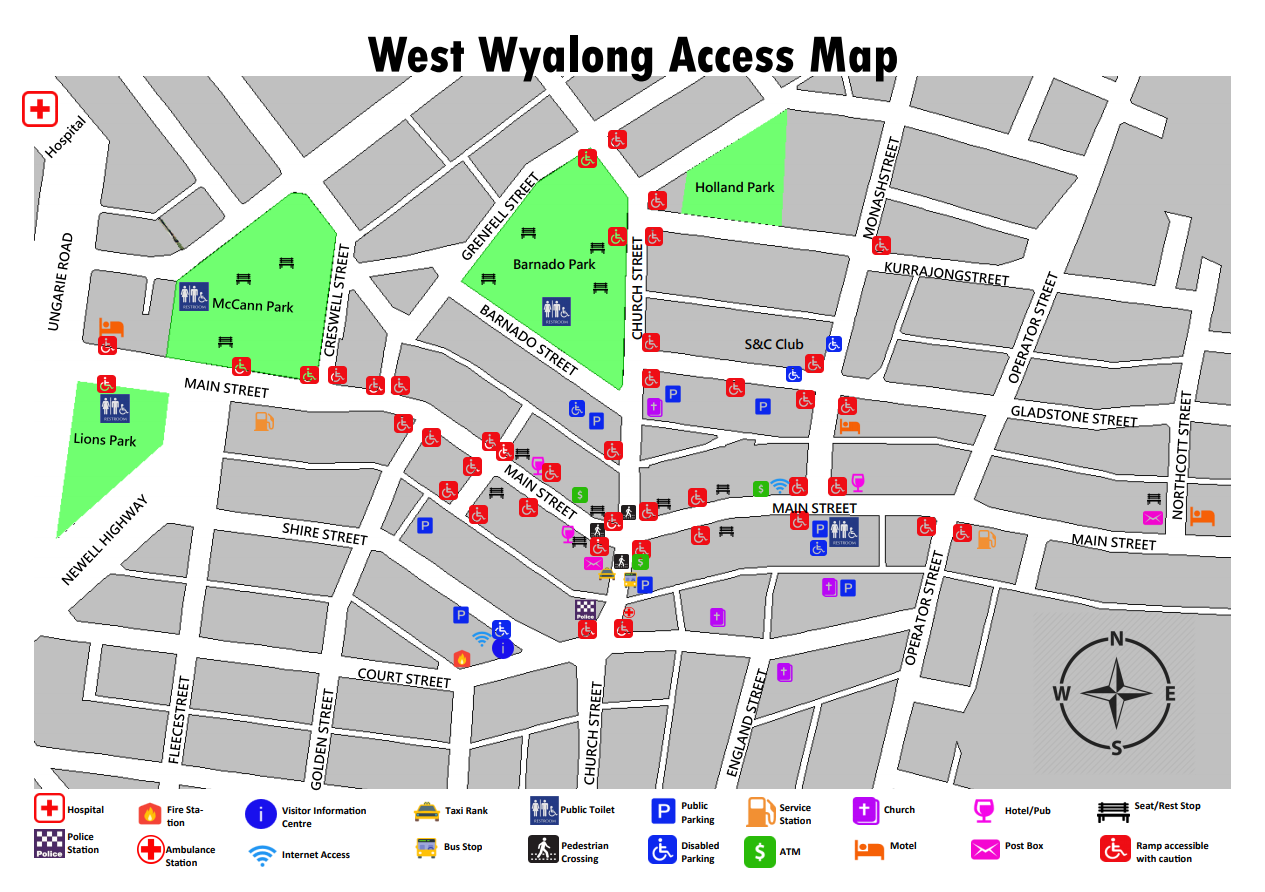Mobility Access Map 2019