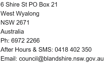 Australia address